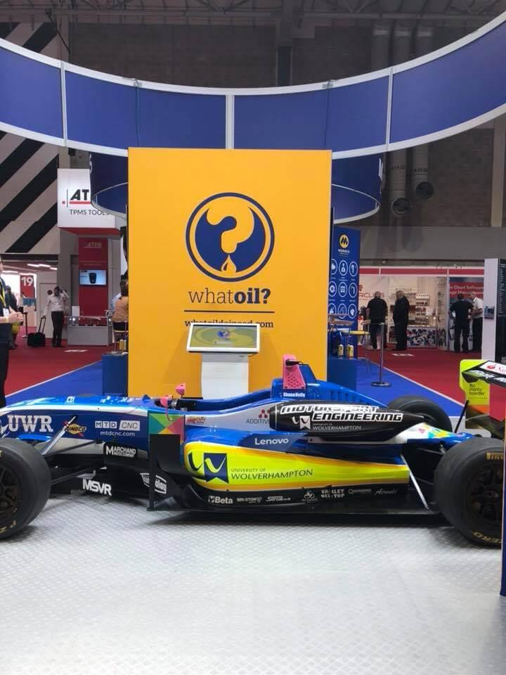 University of Wolverhampton Racing Team's 2018 F3 car