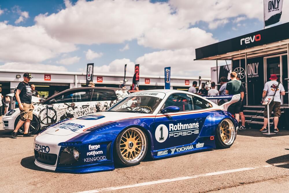 VAG Tuner Live 2018 - Rothmans Porsche