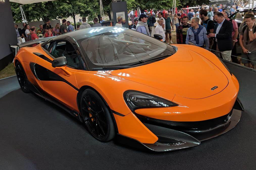 McLaren 600LT, goodwood festival of speed
