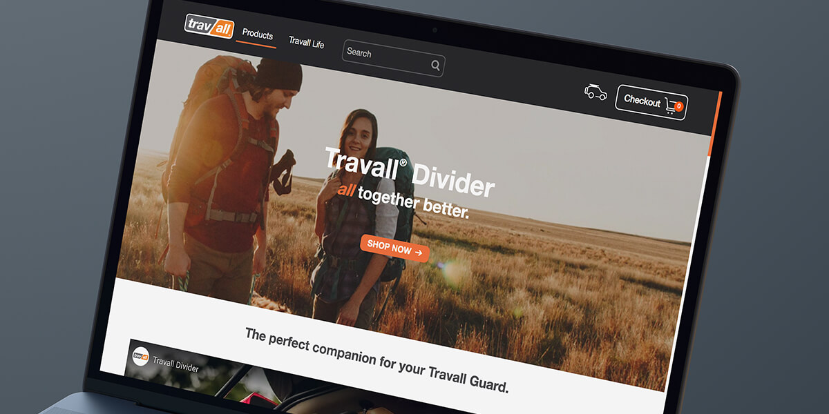travall divider webpage