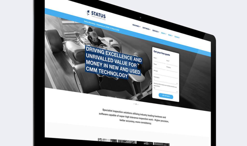 status website design