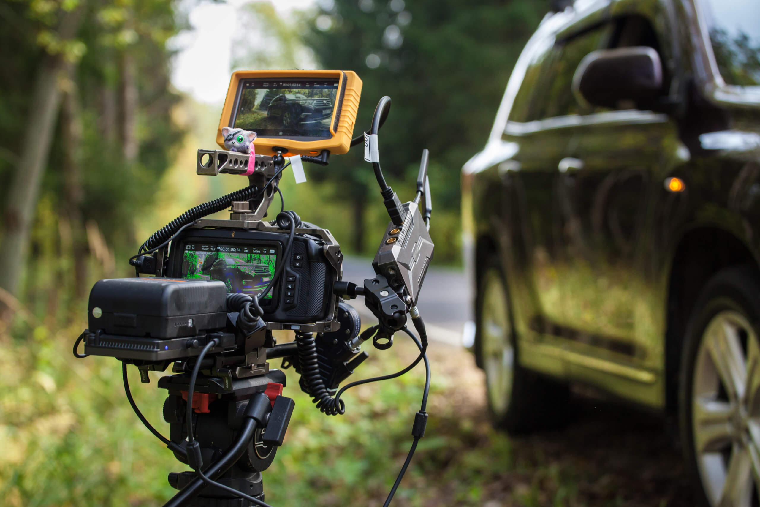 wda automotive car location shoot